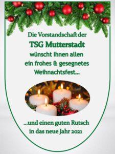 Viele Grüße und Frohe Weihnachten
