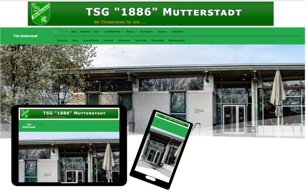 tsg-mutterstadt.de im neuem Gewand